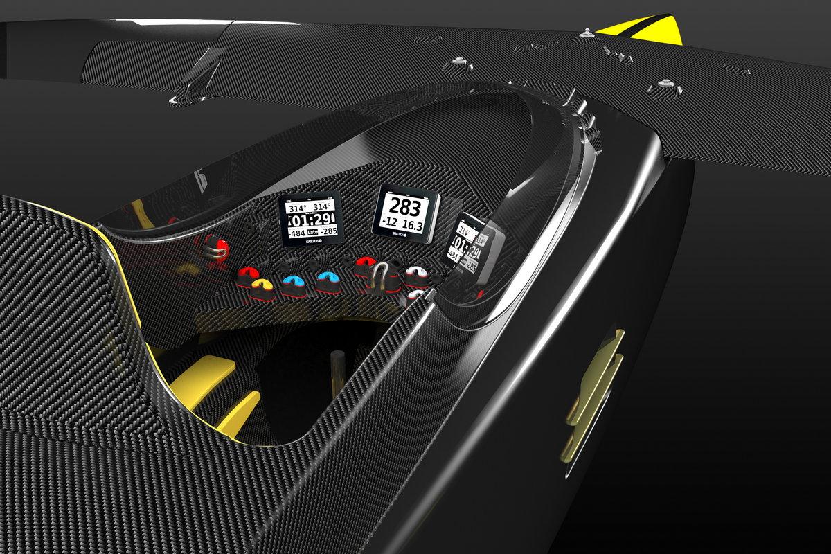 Vortex Pod Racer Cockpit