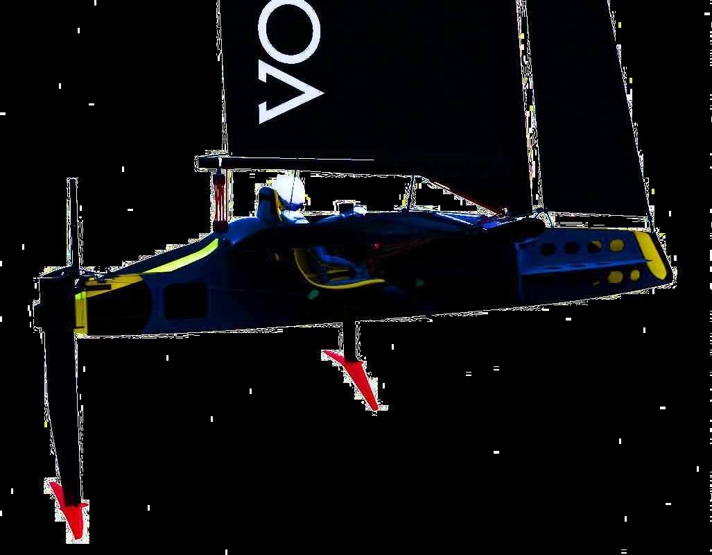 Vortex Pod Racer Cross Section
