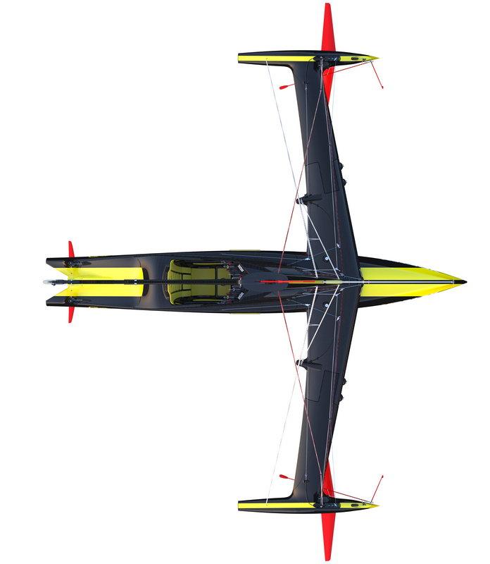 Vortex Pod Racer Plan View