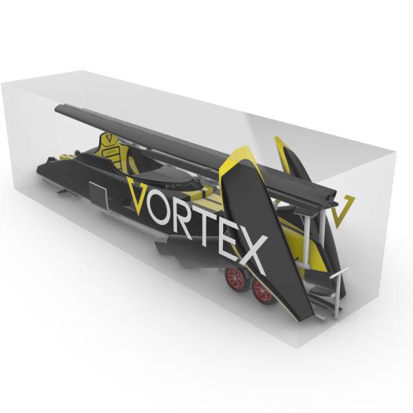 Vortex pod racer in box